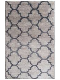 Silk Area Rugs Contemporary Bamboo Silk Area Rug 3 By 5