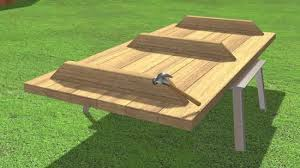 Build A Heavy Duty Picnic Table by How To Build A Picnic Table 13 Steps With Pictures Wikihow
