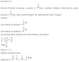 ncert solutions for class 7th maths ch 2 fractions and decimals