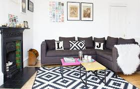livingroom glasgow a touch of fashion flair has transformed this glasgow flat