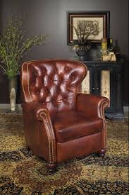Leather Recliners South Africa Bastien 3 Way Lounger Recliner W Brass Nails By Bradington Young