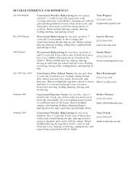 cover letter and resume exles nanny resume cover letter exles of nanny resumes image gallery of