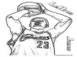 coloring page basketball lebron james symbol colouring pages for lebron james coloring