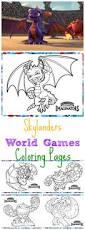 skylanders world games coloring pages busy moms helper