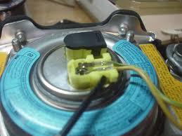 rsx or ep civic steering wheel into ek airbag mod honda tech