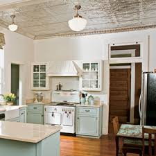 Tile In The Kitchen - dishfunctional designs embossed tin ceiling tiles recycled