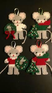 Christmas Mice Decorations 1524 Best Plastic Canvas Patterns Images On Pinterest Plastic