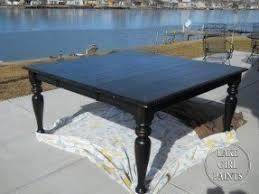 Black Square Dining Table Black Square Dining Table Foter