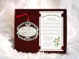 merry christmas from heaven merry christmas from heaven ornament personalized