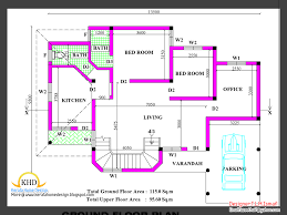 Free Home Plans by 2266 Square Feet Free Home Plan And Elevation Kerala Home Design