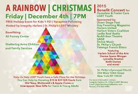 a rainbow christmas u0027 brings love to homeless youth u0026 lgbt youth in