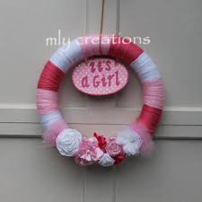 welcome home baby shower shop baby shower wreath on wanelo