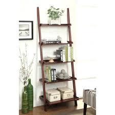bookcase narrow black ladder shelf narrow ladder shelf canada
