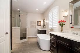 luxury master bathroom designs dining room modern with vaulted