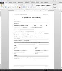 forms travel request form excel help related vawebs