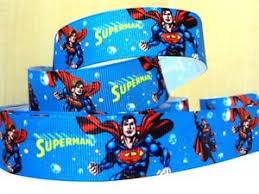 superman ribbon superman ribbon 1 wide new uk seller free p p ebay