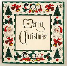 1143 best vintage christmas greeting cards three images on
