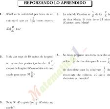 problemas razonados para cuarto grado problemas con fracciones en sexto de primaria 7 gif