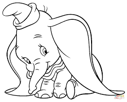 top 86 dumbo new coloring pages free coloring page