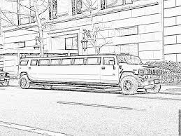limousine new york coloring pages printable u0026 free coloring
