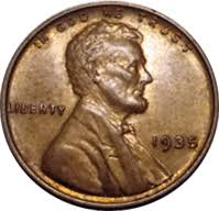 penny s 1935 s wheat penny value cointrackers