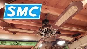 Ceiling Fan Pull String Stuck by Smc A52 Ceiling Fan Custom Finish Youtube