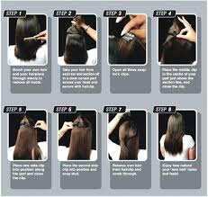 how to braid extensions into your own hair long natural straight hair 5 clips in hair extensions 8 colors