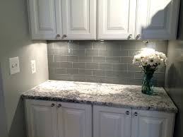 glass tiles for kitchen backsplash travertine and glass tile backsplash kitchen with granite brown