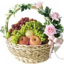 fruit flower basket seasonal 5 kgs mix fruit basket 4 myflowergift