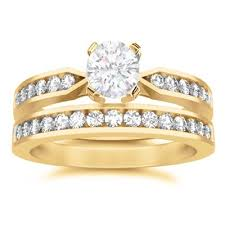 Affordable Wedding Rings by Affordable Wedding Ring Set On Jeenjewels