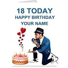 bruno fourniture bureau carte d anniversaire motif bruno mars amazon fr fournitures de