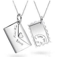 custom necklaces for couples letter couples necklaces with custom names engraved