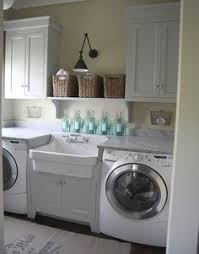 Sink For Laundry Room Beautifully Organized Small Laundry Rooms Small Laundry Rooms