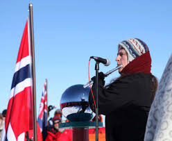 Flute Flag South Pole Centennial Events
