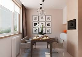 modern upholstered dining room chairs displaying warm atmosphere through stunning interior designs
