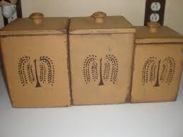 primitive kitchen canisters 19 best primitive kitchen canisters images on kitchen