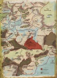 Forgotten Realms Map Political Map Of Faerûn East