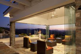 retractable wall exterior glass wall systems