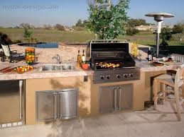 Backyard Bar And Grill Outdoor Kitchens  This Aint My Dads - Backyard grill designs