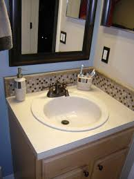 backsplash ideas for bathrooms doublevanity design this backsplash bathroom gray contemporary