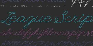25 awesome cursive fonts