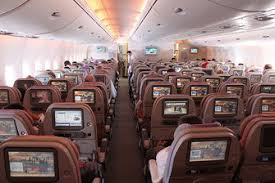 Emirates Airbus A380 Interior Business Class Review Emirates Airbus A380 Super Jumbo Gotravelyourway The