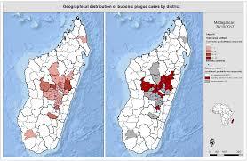 Black Death Map Who Plague U2013 Madagascar