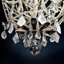 Rock Crystal Chandeliers D U0026d Antiques Gallery A French Louis Xvi Rock Crystal Chandelier