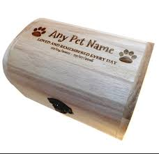 memorial remembrance wooden pet urns cremation urns ashes box dog