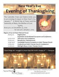 the day of thanksgiving an evening of thanksgiving december 31 2017