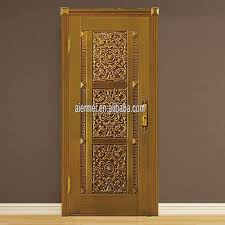 Door Pattern Single Door Design Real Copper Apartment Door With Beautiful