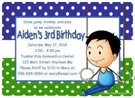 3rd Birthday Invitation Cards Email Party Invitations U2013 Gangcraft Net