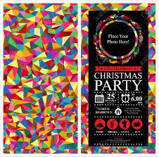 christmas party invitation card royalty free cliparts vectors