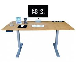 Adjustable Standing Desk Diy Desk Automatic Adjustable Standing Diy Regarding Modern